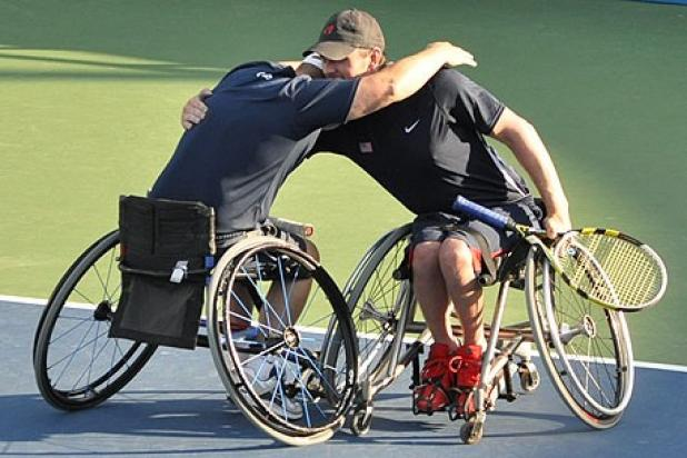 wheelchair players